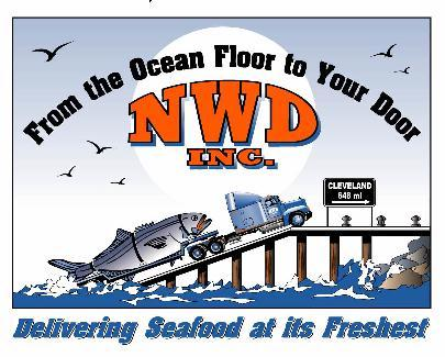 3/4 of 1,000,000 pounds of fresh and frozen product  transported on a weekly basis from NWD's dock